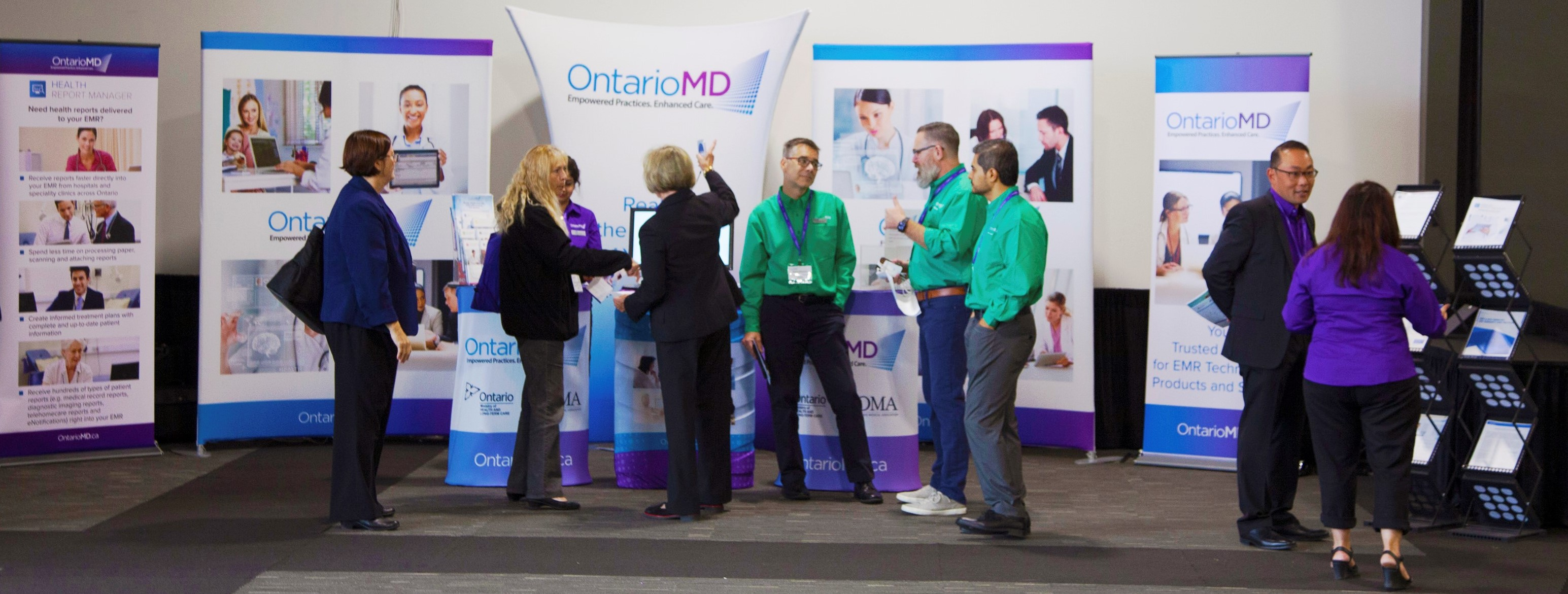 OntarioMD Booth